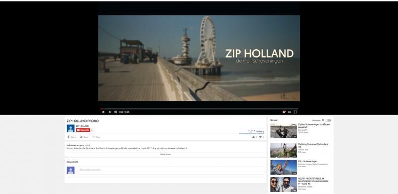 Zip holland promo video